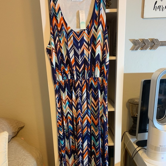 Renee C. Dresses & Skirts - ReneeC maxi dress NWT size 2X